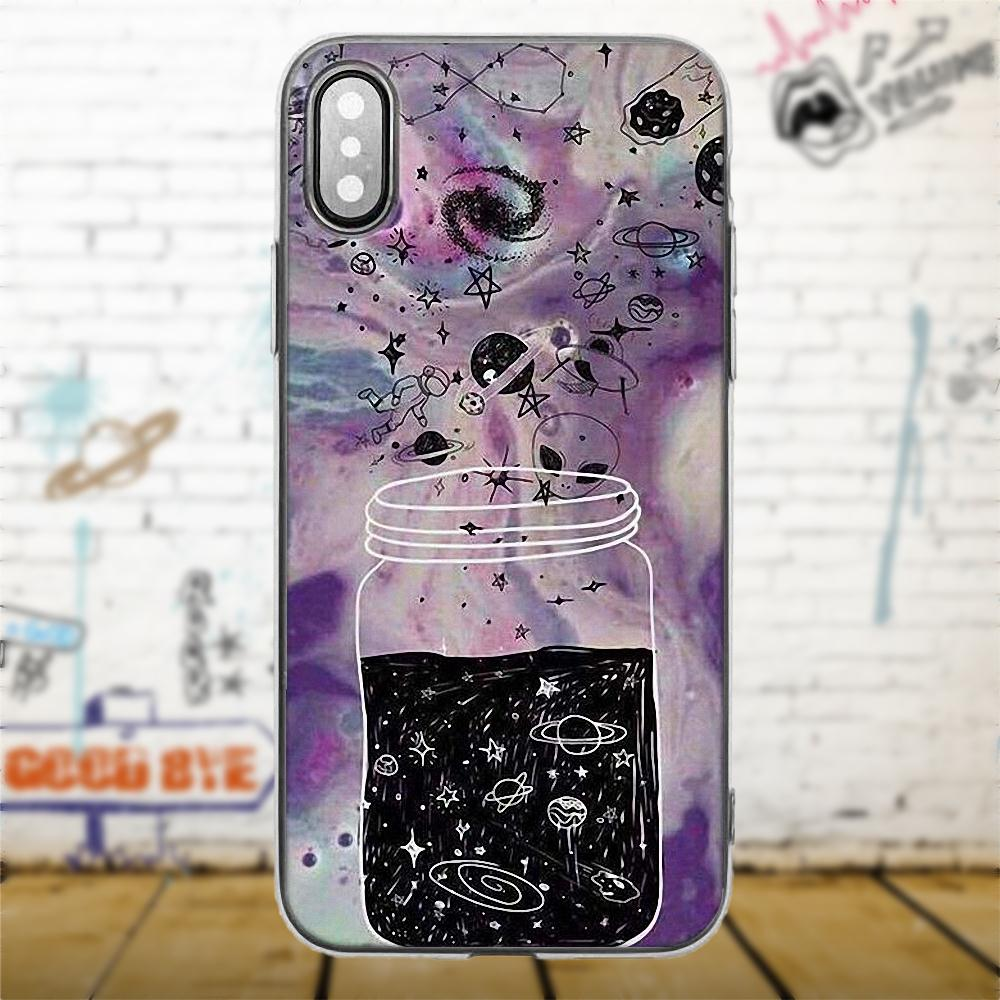 Merry Go Round Planet Space Alien Sky For Samsung Galaxy A3 A5 A7 J1 J3 J5 J7 S5 S6 S7 S8 S9 edge Plus 2016 2017 TPU Fashion