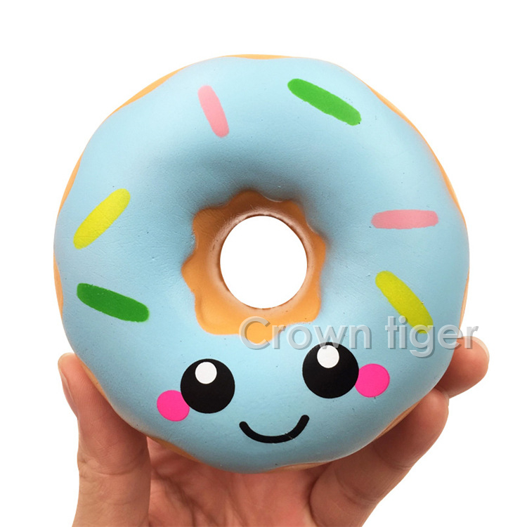 Toys & Hobbies Earnest 6/8/11cm Kawaii Doughnut Cream Scented Squishy Donut Slow Rising Squeeze Anti Stress Soft Toy Funny Bread Cute Squishies Oyuncak