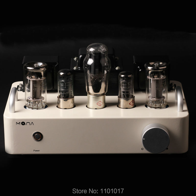 HIMING MONA FU50 Tube Amplifier HIFI EXQUIS Signal ended handmade Triode Lamp Amps berbanding dengan 300B RMFU50W