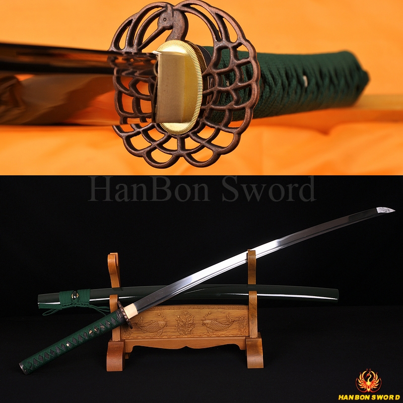 Saya Part Rayskin Scabbard sheath katana Iaito iaido Japanese Sword Matt Black