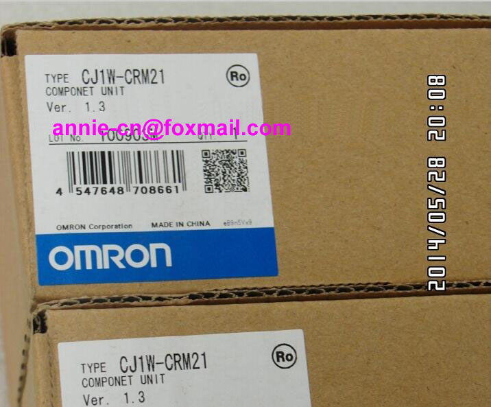 New and original  CJ1W-CRM21  OMRON  PLC  COMPONET UNIT cj1w scu41 v1 omron plc module cj1w scu41 v1 1pc used for communication unit cj1w scu41 v1 tested cj1wscu41v1