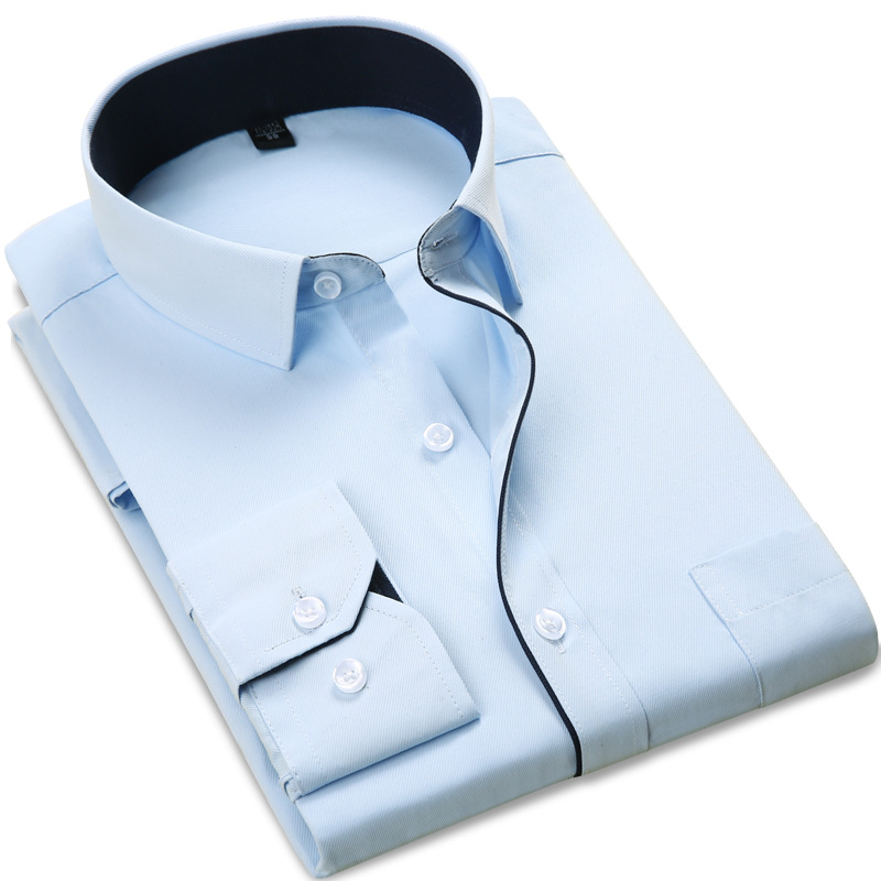 Brand New Men Shirt Male Dress Shirts Men s Fashion Casual Long Sleeve Business Classic fit