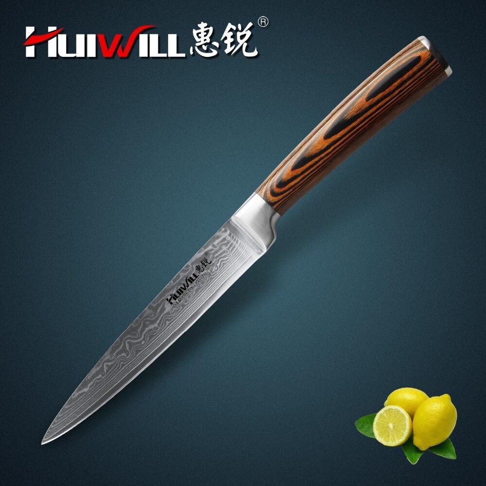 Huiwill cuchillo de Damasco 5