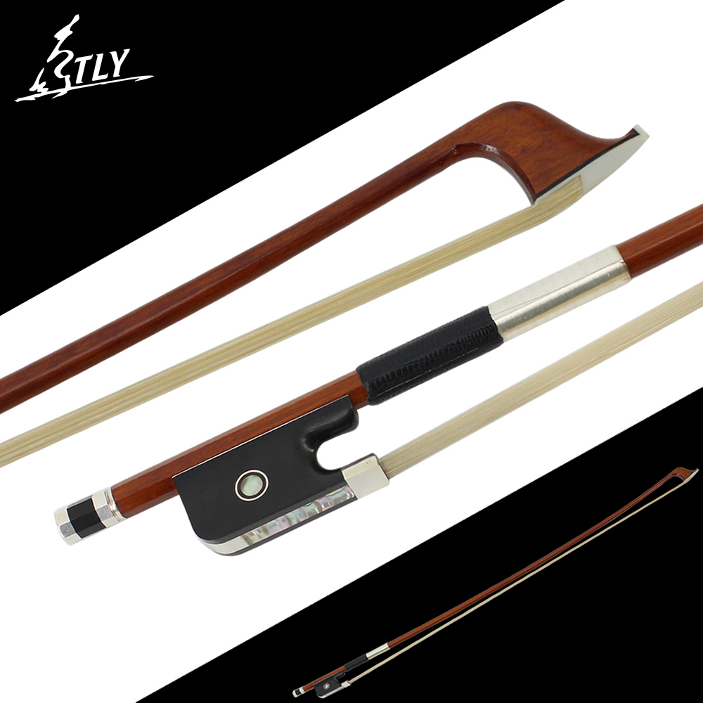 Master Handmade High-density Brazilwood 4/4 Cello Bow Ebony Frog High-class Pure Silver Cello Accessories one new high quality 4 4 bass bow ba 110 1 brazilwood ebony f rog bass bow