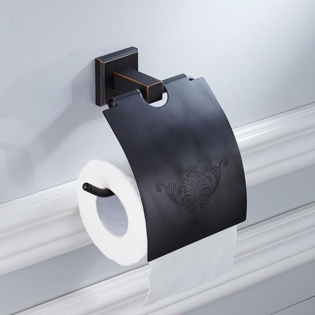 Us 25 56 29 Off Bathroom Full Br Toilet Paper Holder Roll Rack Tissue Storage Shelves Hardware In