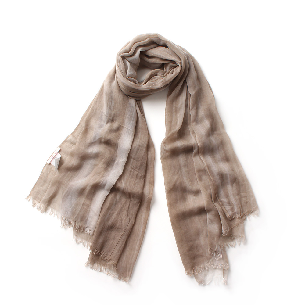 tie dyed gradient color 100 viscose scarves women fringed soft light scarf lady fashion neck warmer shawl wraps high quality in Women 39 s Scarves from Apparel Accessories