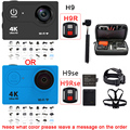 H9 H9R H9se H9Rse Оригинальный 4 К 25FPS WI-FI 12MP Ultra HD sj плюс действие камеры cam сяо yi Спорт go hero 4 pro K hero спорта камера