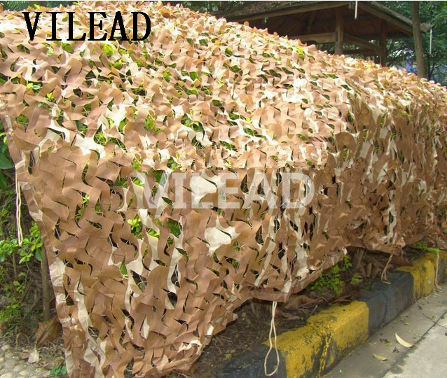 VILEAD 10M Desert filet camouflage Net military Camo Netting for beach tent balcony tent pergolas decoration outdoor pergolas vilead 10m 33ft wide sea blue digital camouflage net military army camo netting sun shelter shade net for hunting camping tent