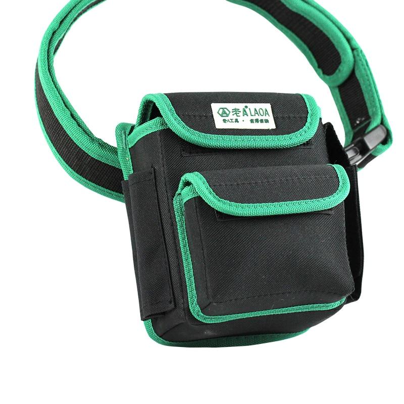 LAOA Multifunción Herramienta Cinturón 600D Doble Capa Oxford Tela - Almacenamiento de herramientas - foto 3