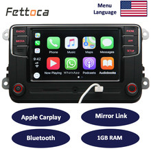 RCD330 Carplay 187B MIB 6.5 cal Radio samochodowe 1GB pamięci RAM Carplay Mirror Link dla Golf 5 Jetta MK5 MK6 CC Skoda Passat B6 B7 Polo(China)