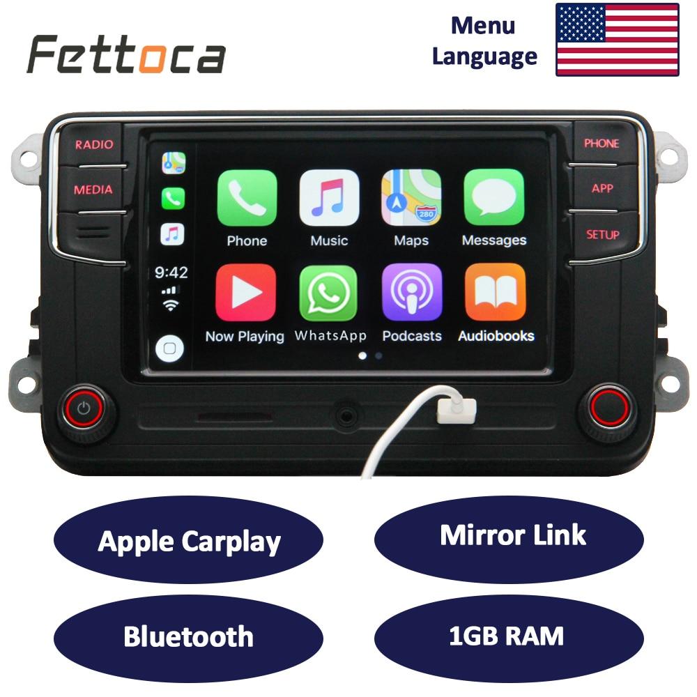 RCD330 Carplay 187B MIB 6,5 zoll Auto Radio 1 gb RAM Carplay Spiegel Link Für Golf 5 Jetta MK5 MK6 CC Skoda Passat B6 B7 Polo