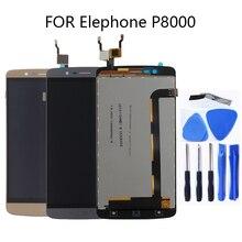 대 한 Elephone P8000 안드로이드 5.1 LCD touch screen original 디지타이저 대 한 Elephone P8000 LCD + free 툴