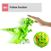 2019 New Fog Spray Dinosaur Toy with Remote Control Multifunction Music Dancing Kids Toys