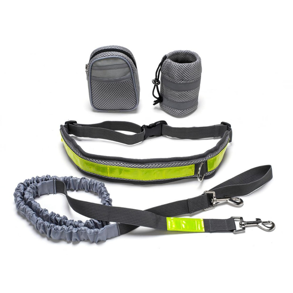 Pet Products For Large Dog Handsfree Leash Leads Dog Collars Adjustable Dog Harness Leash Running Jogging For Dogs Supplies in Dog Accessories from Home Garden