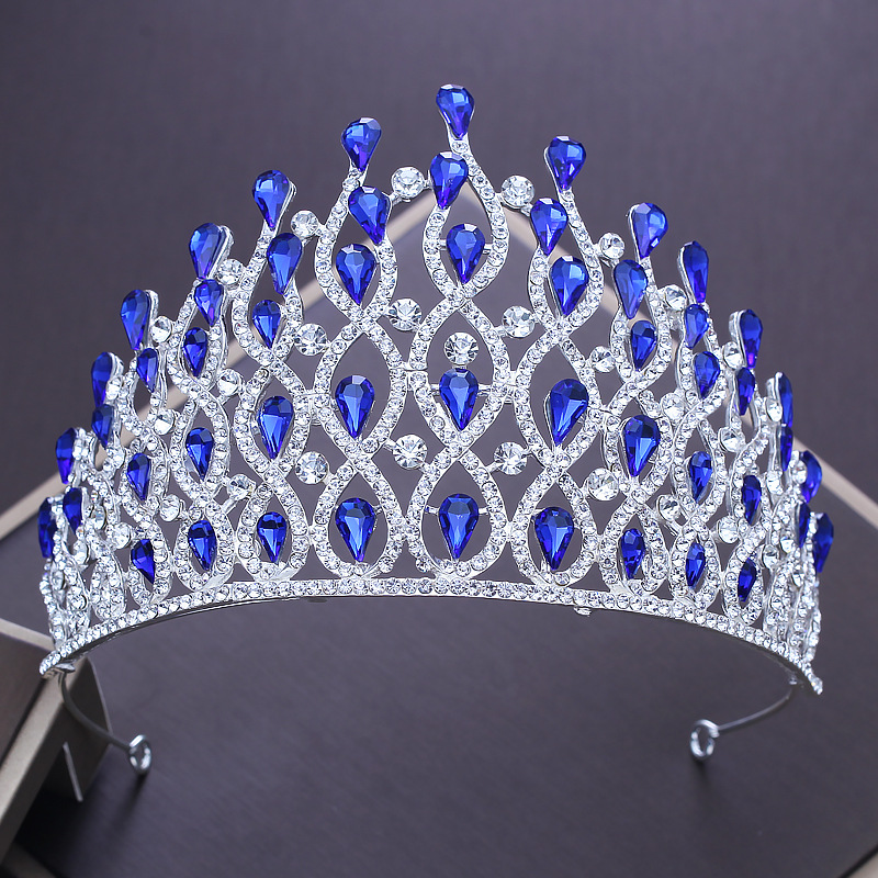Gothic Large Tiara Rhinestone Hollow Queen Crown Headband Hair Jewelry for Wedding Bridal Beaded Headdress Women Hairband Gifts personal epistemology as predictor of attitudes toward ict usage