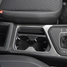 Автомобиль чашки коробка границы Обложка для Volkswagen VW Tiguan L 2017 R-Line 1 шт. аксессуары для интерьера