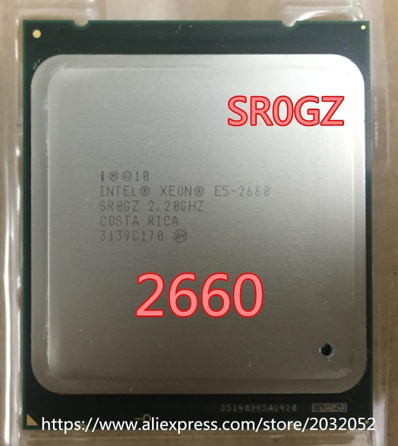 For INTEL XEON E5 2660 SR0GZ CPU 8 CORE 2 20GHz 20M 8GT s 95W PROCESSOR