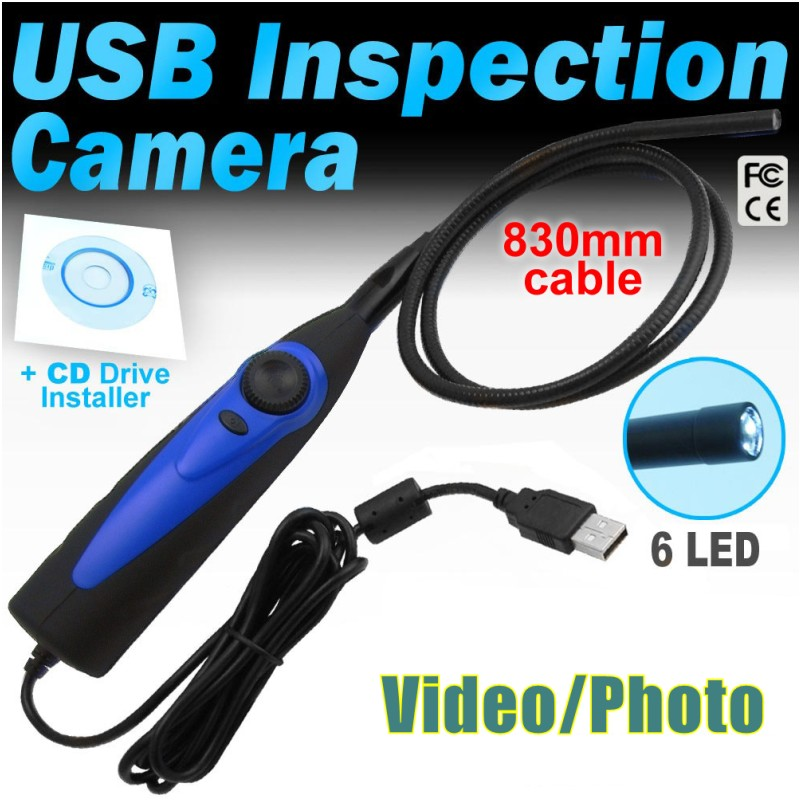 98AT Smart Phone Android OTG Endoscope Borescope Dia 7mm Waterproof USB Inspection Camera for Pipe Tube Inspection car checking