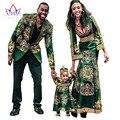 2017 Весна Новая Мода Семья Matching Одежды Brand Отец Мать и Сын Семьи Ребенка Комплектов Одежды Семья Полная Рукавом BRWYQ15