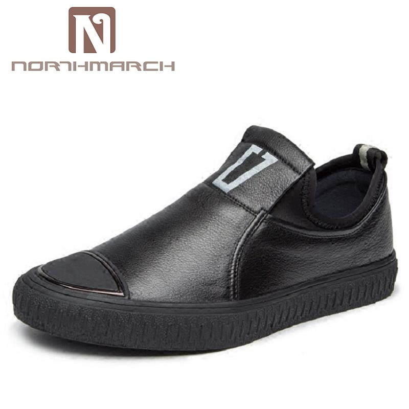 NORTHMARCH Handmade Leather Men Shoes Luxury Brand Men Loafers Breathable Driving Shoes Slip On Casual Flat Moccasins handmade men flats shoes luxury brand business casual men s shoes breathable loafers genuine leather fashion shoes moccasins 8