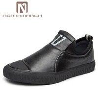 Northmarch ручной работы мужская кожаная обувь Элитный бренд мужские лоферы дышащая обувь для вождения слипоны Повседневное плоские Мокасины