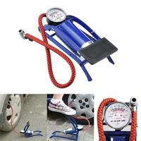 Portable Foot Operated Air Pump Inflatable Mattress Ball Bike Tire Inflator|Bicycle Pumps| |  -