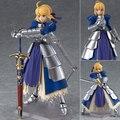 Anime Fate Stay night Figma227 Ubw Zero Saber Cavaleiro Arthur Da Menina PVC Action Figure Coleção Modelo Brinquedos Boneca 15 cm SA447