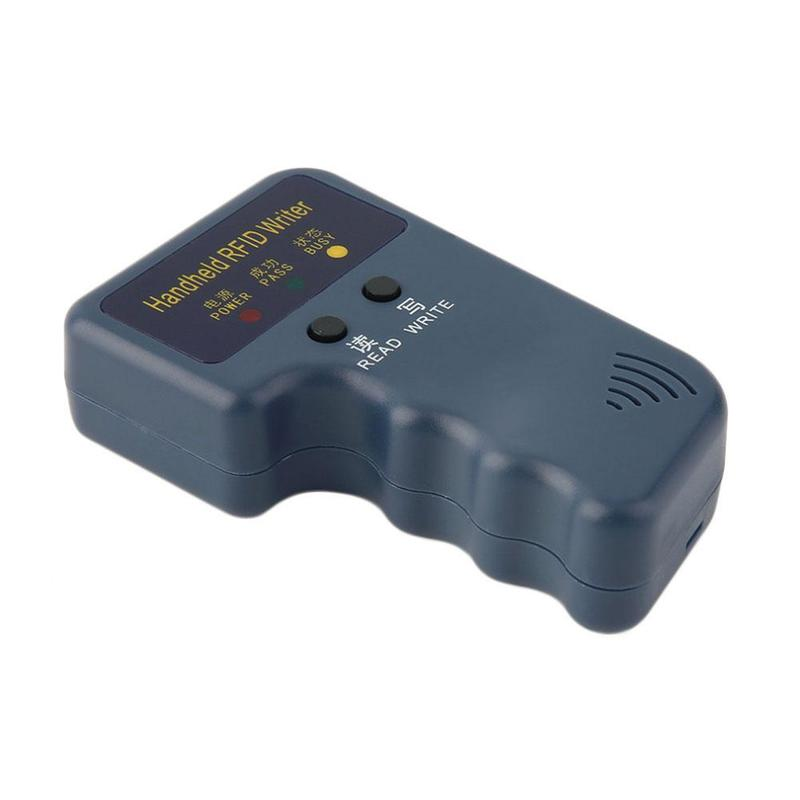 Image 5 - Handheld 125KHz RFID Duplicator Copier Writer Programmer Reader + Keys + Cards Suits RFID Writer/Copier/Readers/DuplicatorControl Card Readers   -