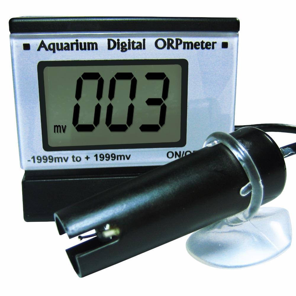 Aletler'ten PH Ölçerler'de Taşınabilir dijital lcd ekran Mini ORP redoks metre cihazı 0 ~ +/ 1999mV aralığı elektrot +/ 5mV doğruluk title=