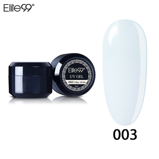 Elite99 Starke Builder Gel Nägel Rosa 8 ml Finger Nagel Verlängerung UV Gel Nagel Abdeckung Tränken Weg Nagel Gel Natürliche UV Gel