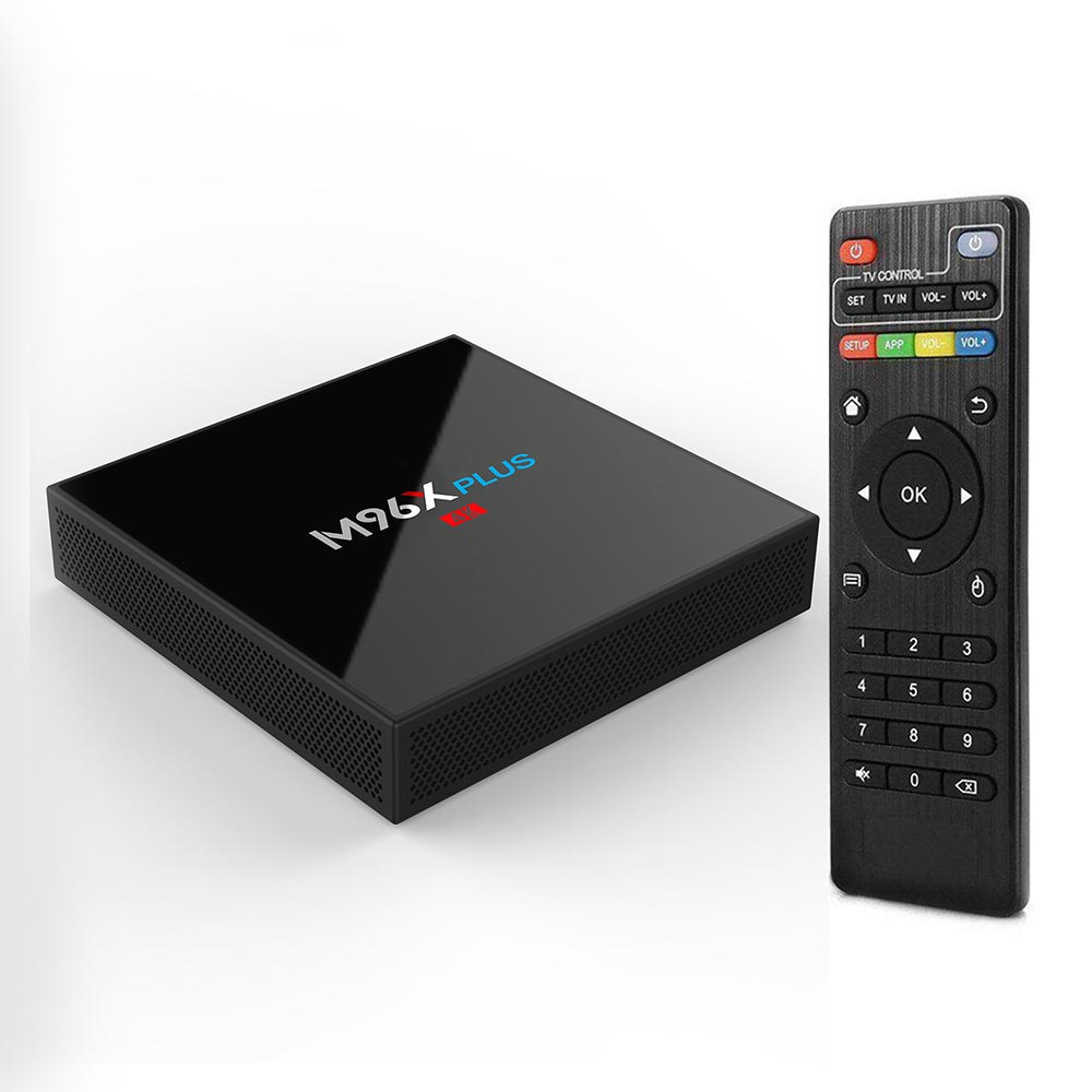 Hot 2018 TV Box Android 7.1 Amlogic S912 Octa core 2GB/16GB WiFi 4K Bluetooth Smart TV Box HD Media Player Tvbox Set-top Box m96x ii plus digital smart tv box 2gb 16gb android 7 1 media player s912 octa core 2g 5g wifi 4k internet tv set top box