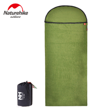 Naturehike Summer Soft Fleece Envelope Single Sleeping Bag