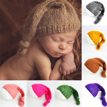 Детские шапки для новорожденных, для фотосъемки новорожденных, ручной вязки, принадлежности для фотосъемки, шапка для маленьких девочек, новинка года, модная детская шапка, шапка, enfant#3j17
