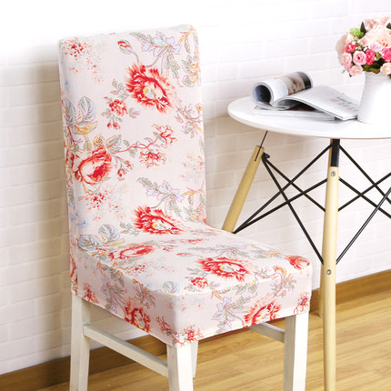 Cheap Dining Room Chair Covers: 1 Piece Plum Spandex Chair Covers Cheap Jacquard Stretch