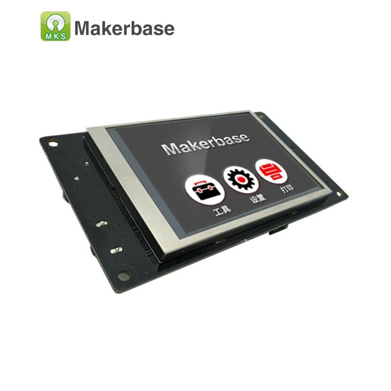 Affichage intelligent de contrôleur d'écran tactile de MKS TFT32 3.2 pouces CE et RoHS imprimante 3D support d'écran d'éclaboussure APP/BT/édition/langue locale - 4