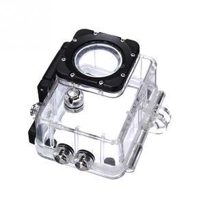 Image 3 - جديد في الهواء الطلق الرياضة عمل كاميرا واقية صندوق تحت الماء مقاوم للماء الحال بالنسبة SJCAM SJ4000 SJ4000 واي فاي زائد Eken h9