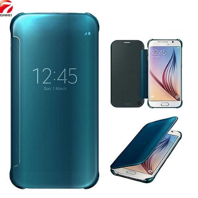 new concept 7d92d 7f710 329.48 руб. |Для samsung A5 2017 чехол зеркало hoesjes чехол для samsung  Galaxy A5 2017 A520 5,2 ''Clear View PU ...