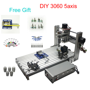 Image 2 - 5 axis CNC milling machine DIY CNC engraving machine Mini CNC router 300*600mm working area