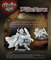 Resin Model Kit Avatars of War AOW78 CAUDILLO BARBARO HUARGLINGA BARBARIAN LORD OF THE WARGS
