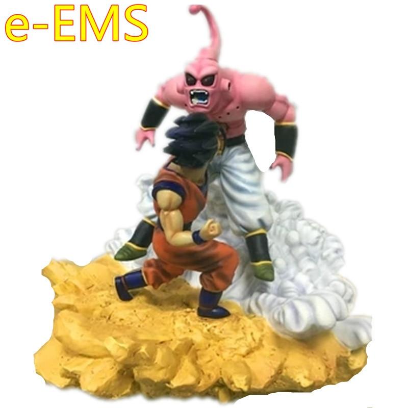 Dragon Ball Z DBZ Son Goku Majin bu Scene di Battaglia GK Statua In Resina Action Figure Decorazione Giocattolo Modello G2266Dragon Ball Z DBZ Son Goku Majin bu Scene di Battaglia GK Statua In Resina Action Figure Decorazione Giocattolo Modello G2266