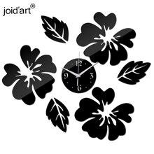 New Quartz Watch Wall Clock Acrylic Horloge Clocks Modern Design Large Decorative Living Room Multi piece