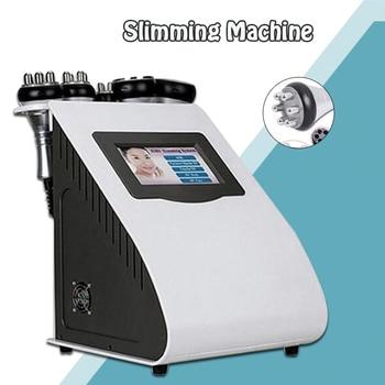 5in1 Ultrasonic Liposuction 40K Cavitation Vacuum Multipolar bipolor RF laser Slimming 2020 New SKIN BODY SALON MACHINE