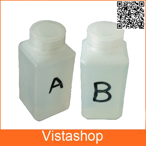Hydrographic Activator  A and B each 100ml Water Transfer Printing Film Hydrographic Film For Water Printing 500ml activator b 10 pcs a4 size hydrographic film hydrographic film activator for water printing