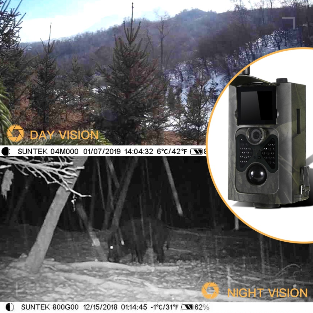Image 5 - SUNTEKCAM HC 550LTE 4G Trail Camera Hunting 16MP Photo Video Tracking Game Cameras Email MMS SMS IR Camera Trap Hunting Camera-in Hunting Cameras from Sports & Entertainment