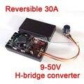 30A Reversível 12 V 24 V 36 V 1400 W PWM H-ponte conversor DC Controle de Velocidade Do Motor de freio para o ventilador de refrigeração/dimmer/termostato do aquecedor