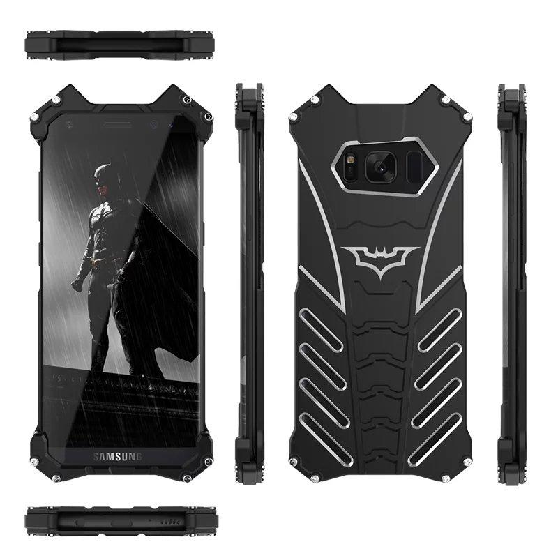 imágenes para R-sólo de aluminio caja del teléfono Original para samsung galaxy caja de metal cubierta de shell del teléfono galaxy s8 s8