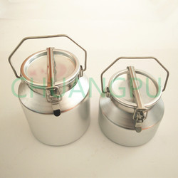 OEM Service Aluminum Can,5liter Milk Bucket, Transport Milk Tank for Storage Liquid