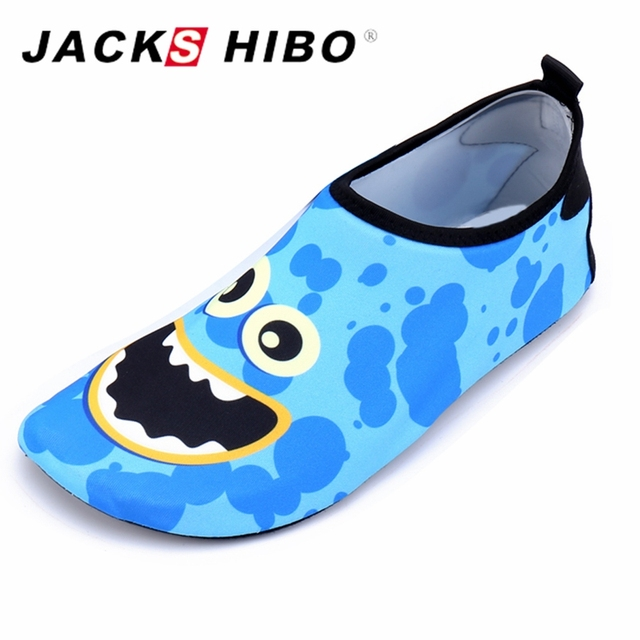 af402080f331 JACKSHIBO Children Quick Drying Swim Water Shoes Kid Casual Footwear  Surfing shoes for Beach Pool Cartoon