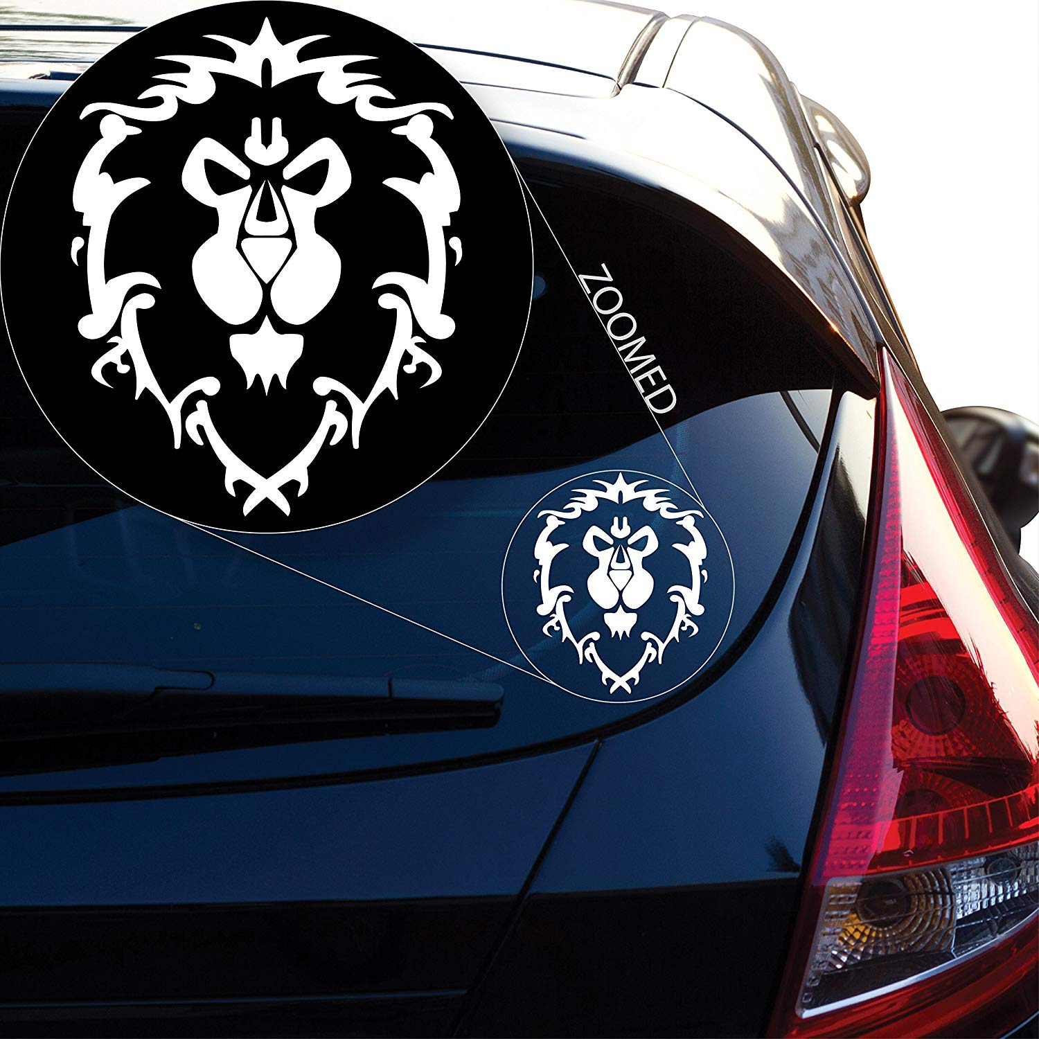 Graphics World of Warcraft Alliance Decal Sticker for Car Window, Laptop and More