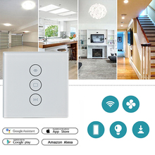 WiFi Smart Switch Cortina Inteligente Vida Tuya para Motorizado Elétrico Cortina Cega Persiana Trabalha com Alexa e Inicial do Google